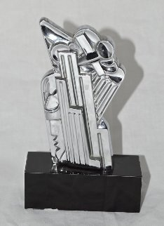 Salute to Airmail Chromium Sculpture 1968 Sculpture - Roy Lichtenstein