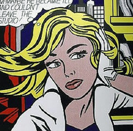 Art of Sixties Poster 1979 Other by Roy Lichtenstein