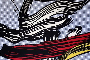 Brushstrokes, 1967  Limited Edition Print - Roy Lichtenstein