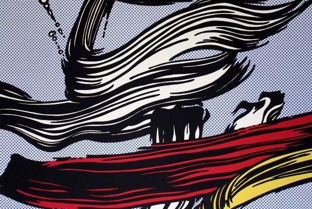 Brushstrokes, 1967  Limited Edition Print by Roy Lichtenstein
