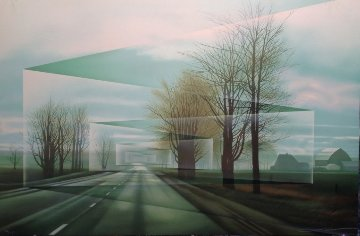Roads 1987 Limited Edition Print - Frank Licsko