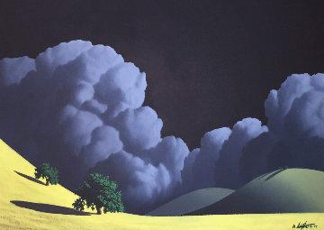 Rolling in II 2004 40x30 Original Painting - Adam Licsko