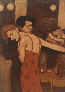 Last Dance 1999 Limited Edition Print - Malcolm Liepke