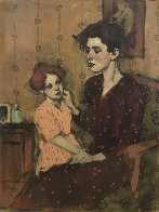 A Mother's Touch 2002 Limited Edition Print by Malcolm Liepke - 1