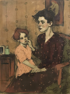 A Mother's Touch 2002 Limited Edition Print by Malcolm Liepke