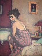 Before the Bath 2000 Limited Edition Print by Malcolm Liepke - 0