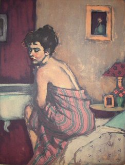 Before the Bath 2000 Limited Edition Print - Malcolm Liepke