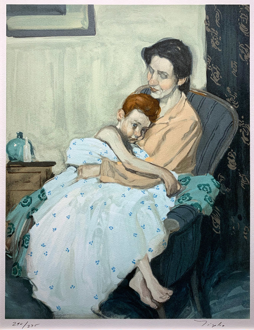 Mother And Child Limited Edition Print by Malcolm Liepke