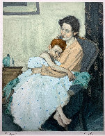 Mother And Child Limited Edition Print by Malcolm Liepke - 0