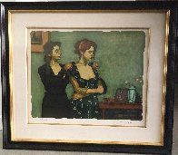 Helping With the Dress Limited Edition Print by Malcolm Liepke - 1