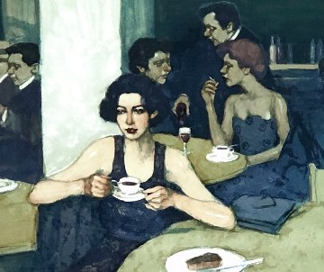 First to Arrive AP 1996 Limited Edition Print - Malcolm Liepke