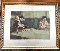 Looking Elsewhere 1993 Limited Edition Print by Malcolm Liepke - 1