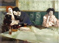Looking Elsewhere 1993 Limited Edition Print by Malcolm Liepke - 0