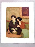 Alone Together 1999 Limited Edition Print by Malcolm Liepke - 1