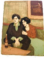 Alone Together 1999 Limited Edition Print by Malcolm Liepke - 0