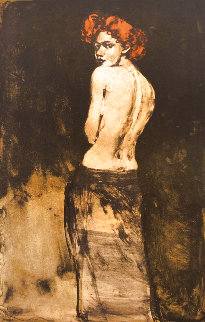 Looking Back Limited Edition Print - Malcolm Liepke