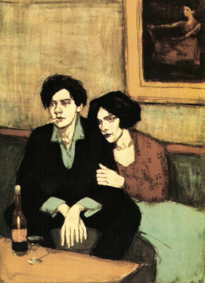 Alone Together 1999 Limited Edition Print by Malcolm Liepke