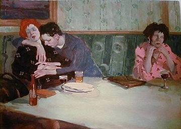 Looking Elsewhere 1993 Limited Edition Print - Malcolm Liepke