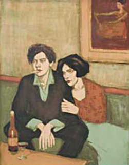 Alone Together 1999 Limited Edition Print - Malcolm Liepke