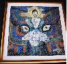 Pray 1987 50x48 Original Painting by Jiang Li - 1