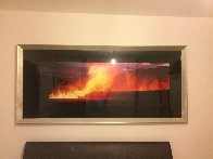 Cane Fire (Redlynch, Cairns) 1.5M Huge Panorama by Peter Lik - 1