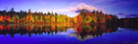 Fall Reflections 1.5M Huge Panorama by Peter Lik - 3