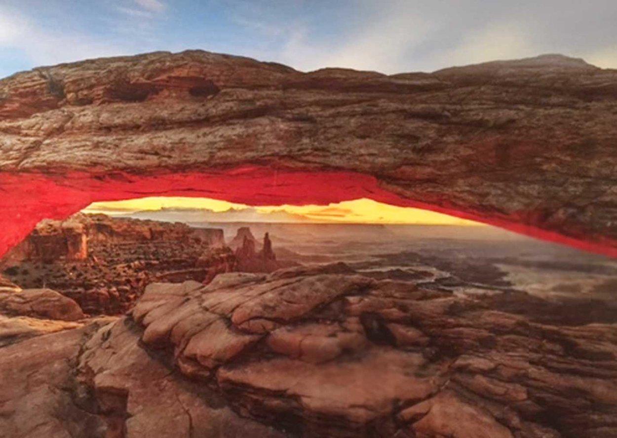 Sacred Arch AP Huge 2M  Panorama by Peter Lik
