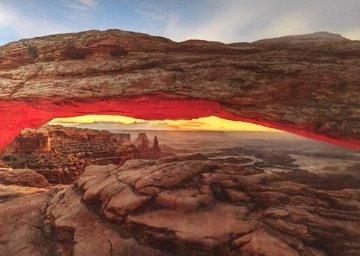 Sacred Arch AP Super Huge 2M  Panorama - Peter Lik