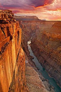 Edge of Time (Grand Canyon Arizona) Panorama by Peter Lik