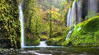 Whispering Falls  Panorama by Peter Lik - 0