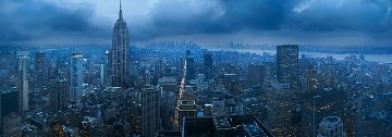 Gotham  New York Panorama by Peter Lik
