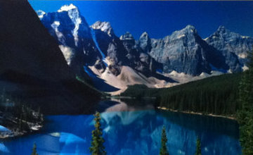 Lake Moraine, Rocky Mountains, Canada 2011 Panorama by Peter Lik