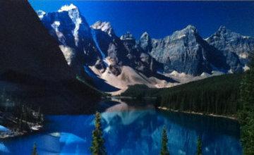 Lake Moraine, Rocky Mountains, Canada 2011 1.5M Huge Panorama - Peter Lik
