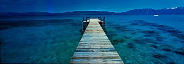 Tahoe Jetty (Emerald Bay, Lake Tahoe, California) Panorama by Peter Lik