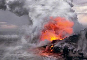 Pele's Whisper AP (Kilauea, The Big Island Hawaii)  Panorama by Peter Lik