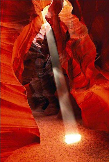 Shine AP  (Antelope Canyon, Arizona) Panorama by Peter Lik