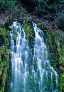 Sierra Cascades (Mossbrae Falls, California) Panorama - Peter Lik