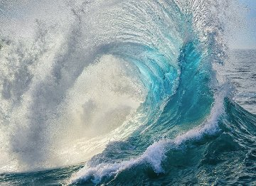 Ocean Dance   Panorama by Peter Lik