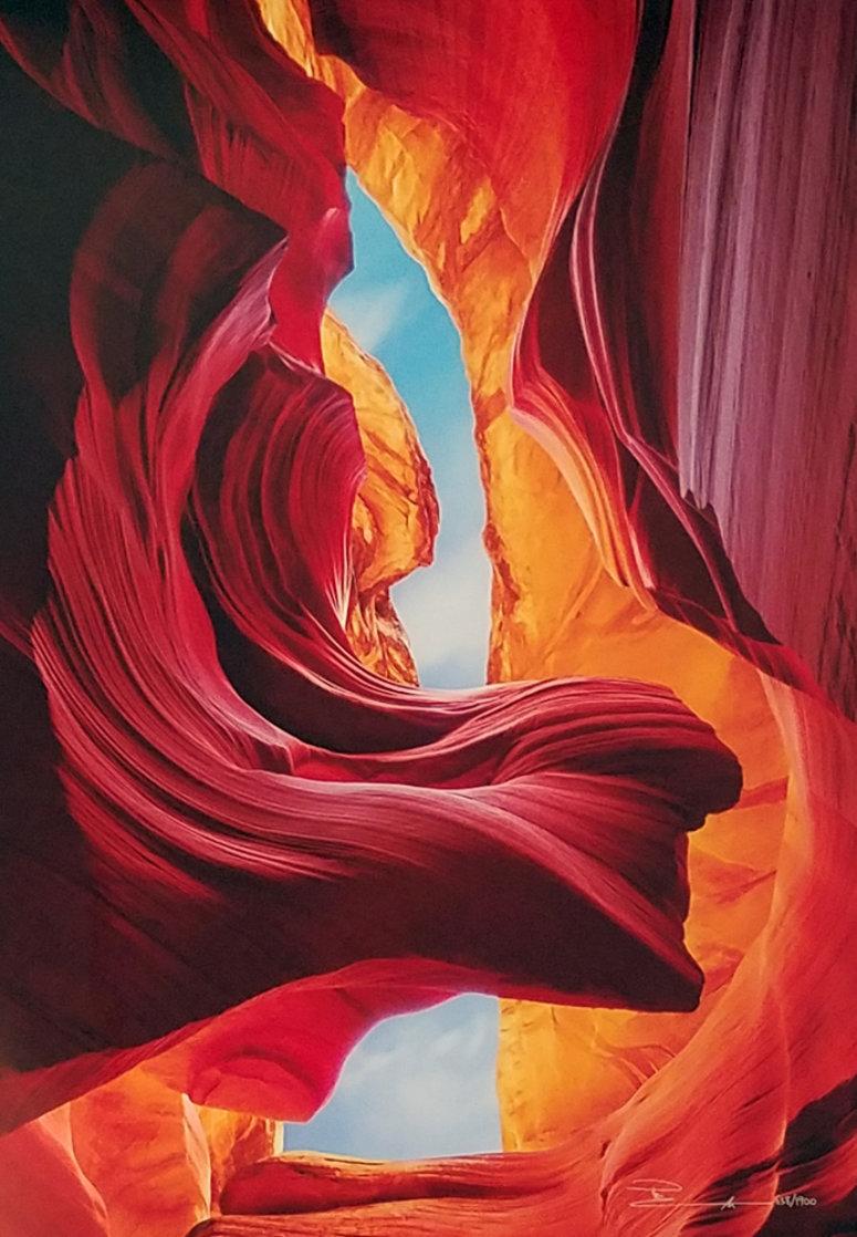 Eternal Beauty (Antelope Canyon, Arizona) Huge  Panorama by Peter Lik