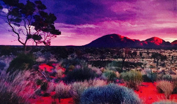 Painted Skies (Kata Tjuta National Park) 1.5M Huge Panorama - Peter Lik