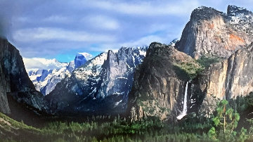 Valley of the Shadows Panorama by Peter Lik