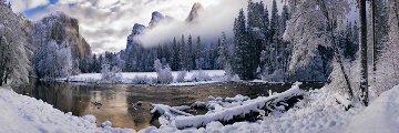 Mystic Valley (Yosemite NP, California) Panorama by Peter Lik
