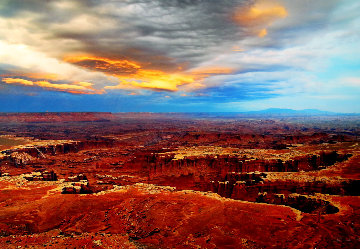 Creation (Canyonlands NP, Utah) 1.5M Huge Panorama - Peter Lik