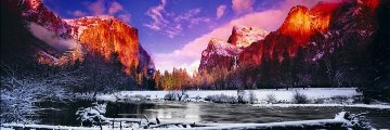 Icy Waters (Yosemite NP, California) 1.5M Huge Panorama - Peter Lik