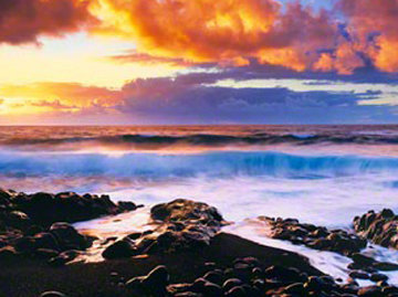 Genesis ( Hana Hawaii) Panorama - Peter Lik