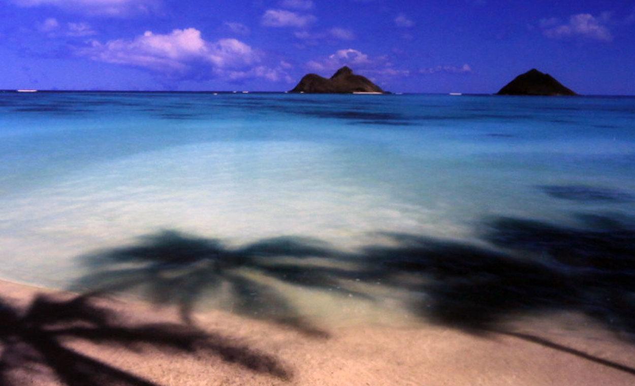 Island Hideaway (Lanikai, Oahu, Hawaii) 1.5M Huge  Panorama by Peter Lik