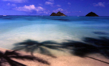Island Hideaway (Lanikai, Oahu, Hawaii) 1.5M Huge  Panorama - Peter Lik