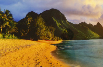 Seventh Heaven  (Na Pali Coast, Kauai, Hawaii) AP Panorama by Peter Lik