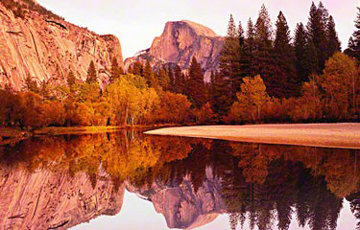 Yosemite Reflections Panorama - Peter Lik