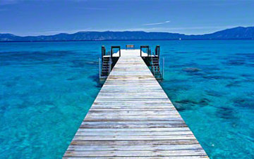 Tahoe Jetty (Emerald Bay, Lake Tahoe, California) Panorama - Peter Lik